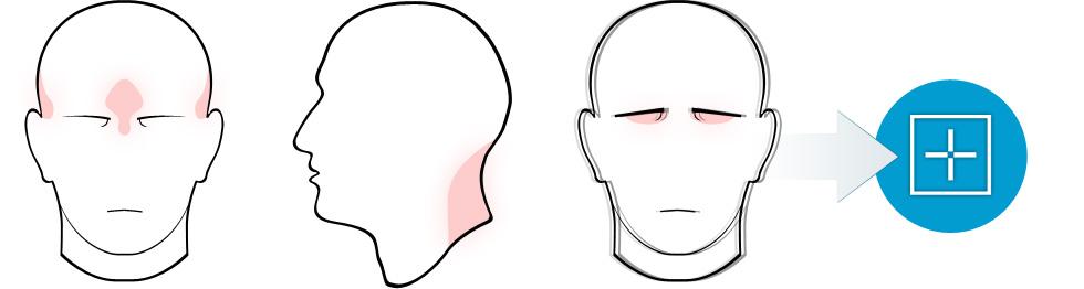 Last van hoofdpijn? Of van nekpijn? Of van de ogen?